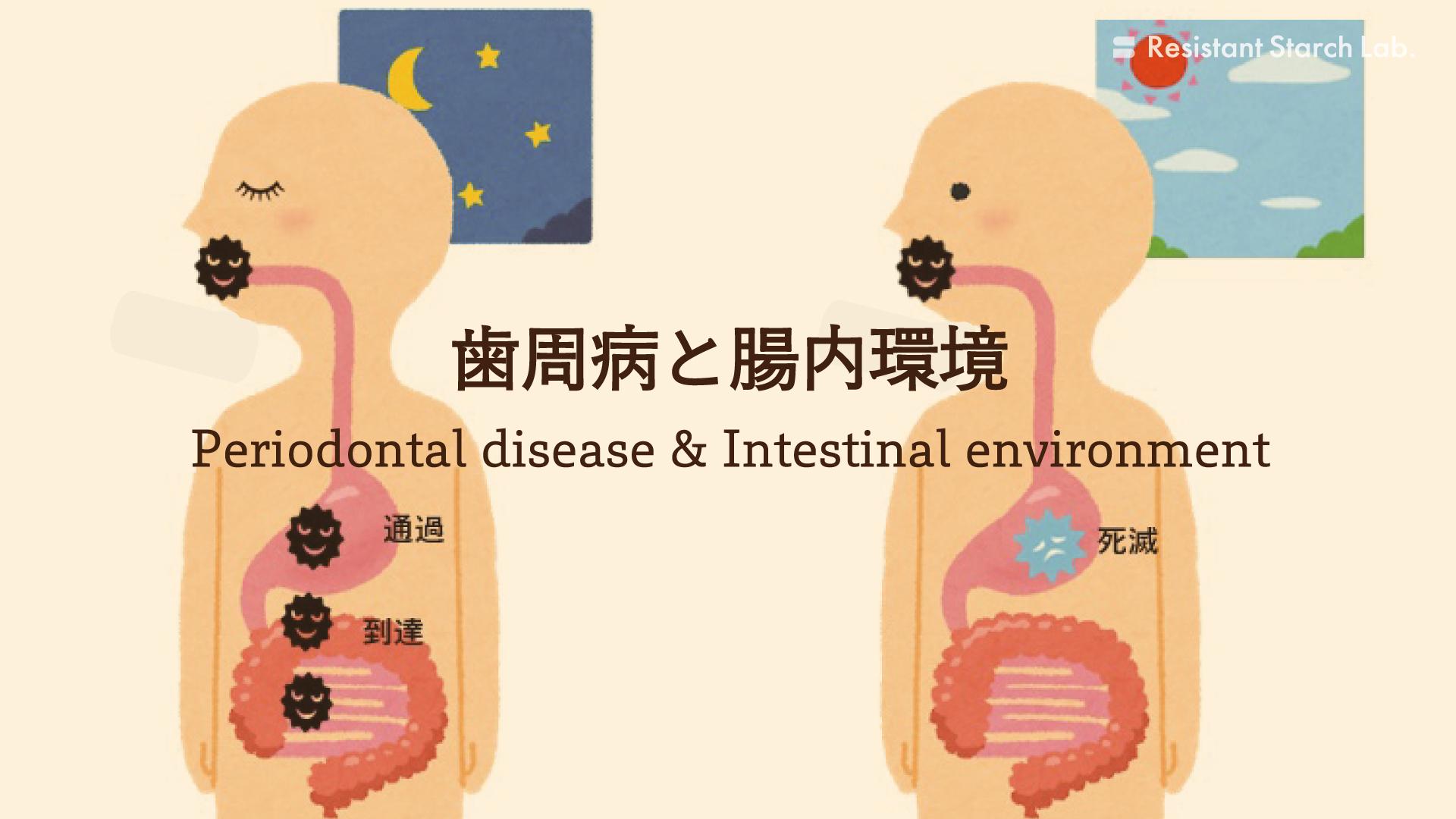 歯周病菌と腸内環境の関係